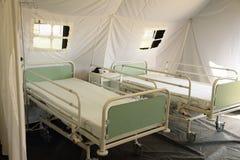 Czech mobile army hospital Royalty Free Stock Photos