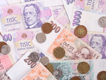 Czech money Royalty Free Stock Photography