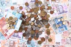 Czech money ande auro texture Stock Photo