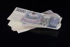 Czech money Stock Images