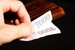 Czech money Stock Photos
