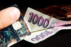 Czech money Royalty Free Stock Photo