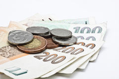 Czech money isolated Royalty Free Stock Image