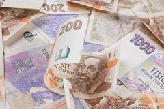 Czech money Royalty Free Stock Photos