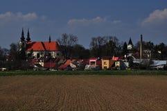 Czech moravian village Kvasice Royalty Free Stock Photo
