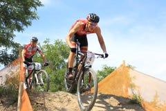 Czech MTB cross country championship Stock Photos