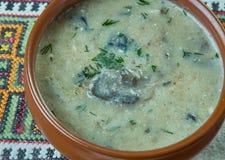 Czech Mushroom Soup Stock Images