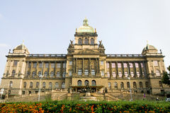Czech National Museum in Prague Royalty Free Stock Images