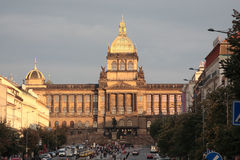 Czech national museum in Prague. Stock Photo
