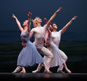 The Czech National Theater ballet troupe royalty free stock photo