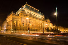Czech national theatre Stock Photo