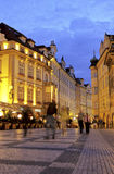 czech old prague republic square town Στοκ Φωτογραφία