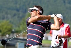 Czech Open 2010, Nick Dougherty, 2010 Royalty Free Stock Image