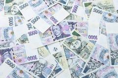 Czech paper money Stock Photography