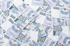 Czech paper money Royalty Free Stock Images