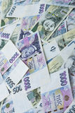 Czech paper money Stock Image