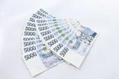Czech paper money Stock Photo