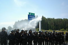Czech policja Obraz Royalty Free
