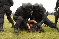 Czech policja Zdjęcie Royalty Free