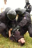 Czech policja Zdjęcia Royalty Free