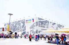 czech porcelanowy pawilon expo2010 Shanghai Zdjęcie Stock