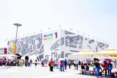 czech porcelanowy pawilon expo2010 Shanghai Zdjęcia Royalty Free