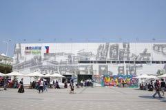 czech porcelanowy pawilon expo2010 Shanghai Obraz Royalty Free