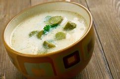 Czech Potato  Pickle Soup Stock Images