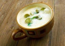 Czech Potato  Pickle Soup Stock Photos