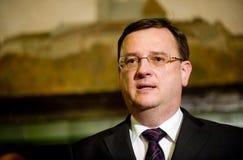 Czech prime minister Petr Nečas Royalty Free Stock Photo