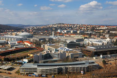 Czech republic, Brno Exhibitions Centre. Exhibitions Centre in Brno in Czech republic Royalty Free Stock Photo