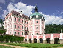 Czech republic - castle Stock Photo