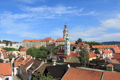 Czech Republic - Cesky Krumlov Stock Photography