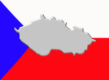 Czech republic country Stock Images