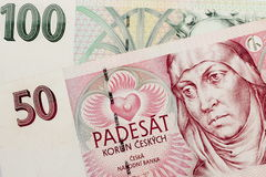 Czech Republic Currency Stock Images