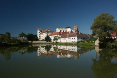 Czech republic, Jindrichuv Hradec, castle Stock Photos