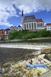 Czech Republic, Krumlov Stock Image