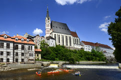 Czech Republic, Krumlov Royalty Free Stock Images