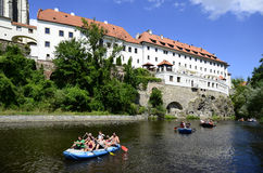 Czech Republic, Krumlov Stock Images