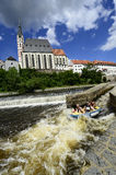 Czech Republic, Krumlov Royalty Free Stock Photography
