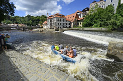 Czech Republic, Krumlov Stock Image