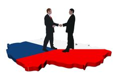 Czech Republic meeting Royalty Free Stock Photography