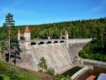 Czech Republic-dam on the Elbe Royalty Free Stock Photos