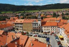 Czech republic, Prachatice. City in South Bohemia region Stock Photo