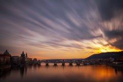 Czech Republic, Prague,  Charles brigde Royalty Free Stock Image