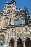Czech Republic, Prague. The Metropolitan Cathedral of Saints Vit Royalty Free Stock Photography