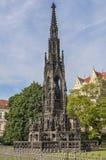 Czech Republic, Prague . Monument to Emperor Franz I. Stock Photos