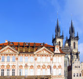Czech Republic, Prague monuments Royalty Free Stock Photography