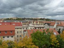 Czech Republic, Prague, Old Town. Czech Republic, Prague, a beautiful view of the buildings of the Old Town stock photos