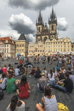 Czech Republic. Prague. Old Town Square. Royalty Free Stock Photos
